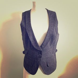 Luxe Menswear Vest with Adjustable Sides